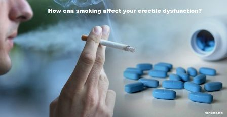 How can smoking affect your erectile dysfunction?