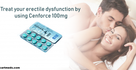 Using cenforce 100 to Treat male erectile dysfunction