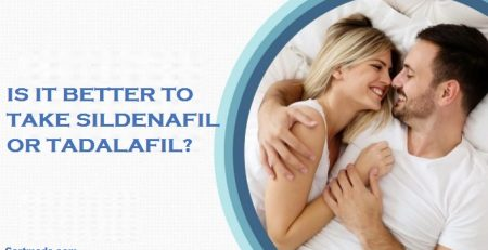 Is it better to take sildenafil or tadalafil?