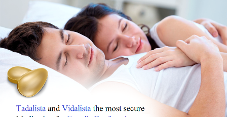 Tadalista and Vidalista the most secure medication for erectile dysfunction