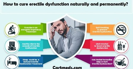 How to cure erectile dysfunction naturally and permanently?